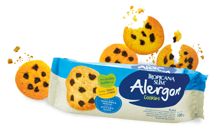 Tropicana Slim Alergon Cookies